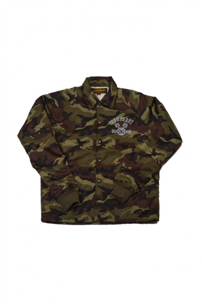Iron Heart Jungle Camo Windbreaker