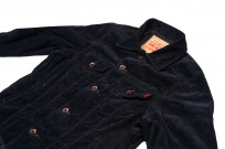 Iron Heart Corduroy Modified Type III Jacket - Black - Image 6