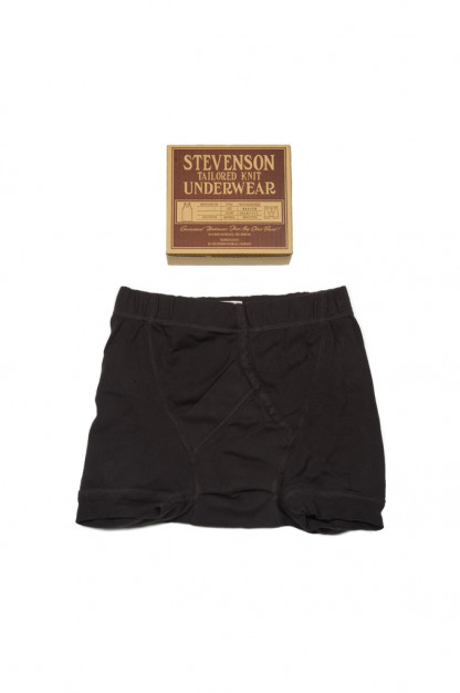 Stevenson Tanguis Cotton Athletic Boxer Briefs - Charcoal