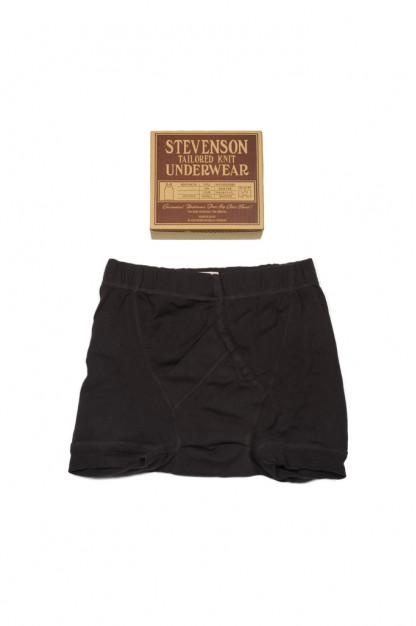 Stevenson Tanguis Cotton Athletic Boxer Briefs - Charcoal
