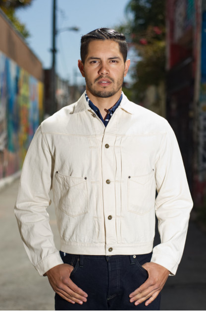 Stevenson Saddle Horn Type II Jacket - Ivory