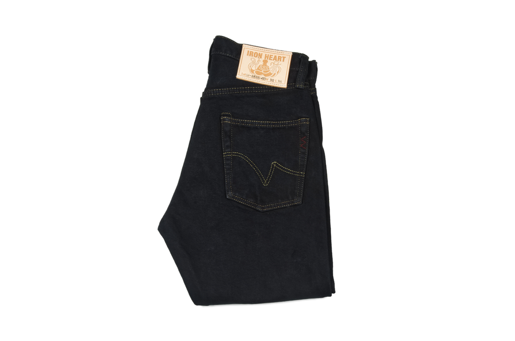 Iron Heart 888s-OD Overdyed Jeans - Straight Tapered - Image 2