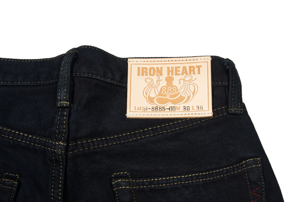 Iron Heart 888s-OD Overdyed Jeans - Straight Tapered - Image 7