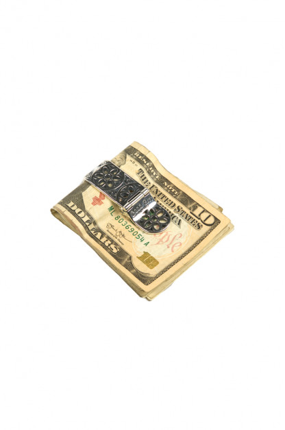 Good Art Cream Dream Money Clip - Filigree