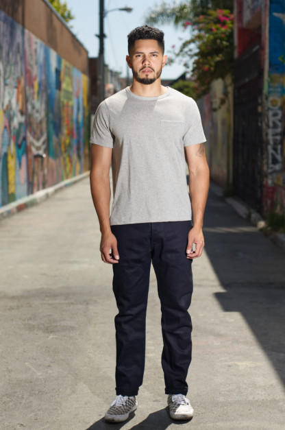 3sixteen CH-122x Lightweight Shadow Selvedge Chinos