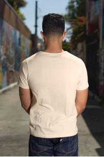 Merz b. Schwanen 2-Thread Heavyweight T-Shirt - Natural Pocket - Image 1