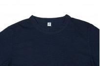 Pure Blue Japan Yarn-Dyed Indigo T-Shirt - Image 3