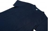 Pure Blue Japan Yarn-Dyed Indigo T-Shirt - Image 4