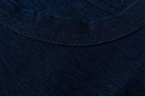 Pure Blue Japan Yarn-Dyed Indigo T-Shirt - Image 6