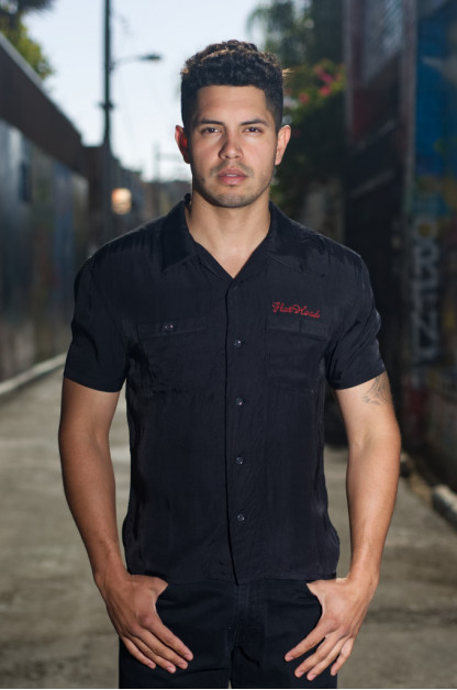 Flat Head Full Tank Chainstitch Embroidered Shirt