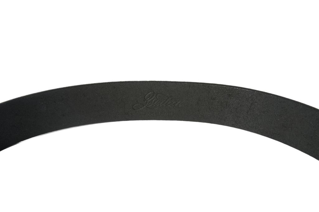 3sixteen Heavy Duty Leather Belt - Black - Image 1