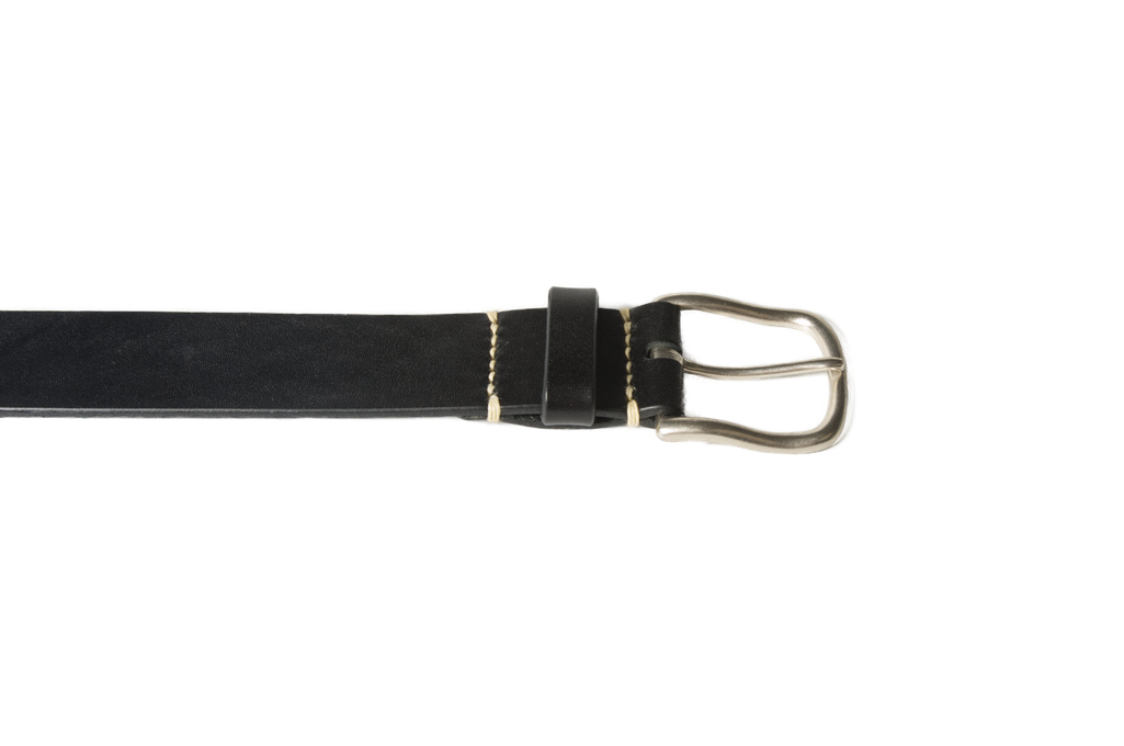 3sixteen Heavy Duty Leather Belt - Black - Image 2