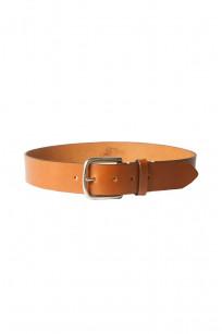 3sixteen Heavy Duty Leather Belt - Brown - Image 0