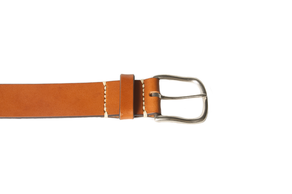 3sixteen Heavy Duty Leather Belt - Brown - Image 2