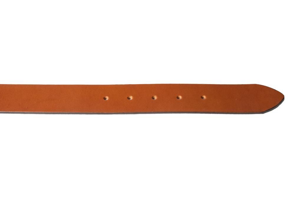 3sixteen Heavy Duty Leather Belt - Brown - Image 3