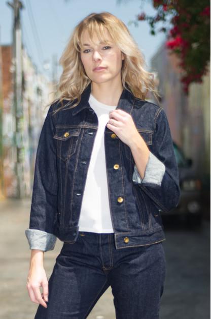 PRPS for Self Edge - 11oz Selvedge Denim Modified Type III Women's Jacket