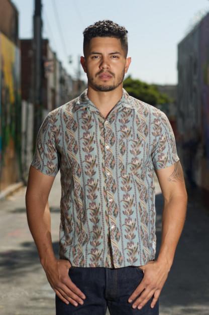 Stevenson Gayphextwin Summers Shirt - Turquoise Blue