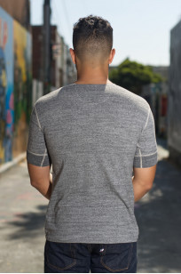 Stevenson Loopwheeled Short Sleeve - Henley Gray - Image 1