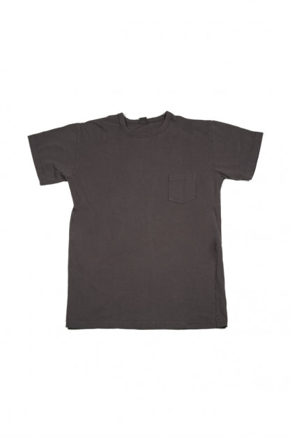 3sixteen Garment Dyed Pocket T-Shirt - Charcoal