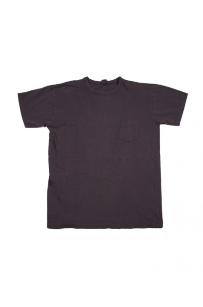 3sixteen Garment Dyed Pocket T-Shirt - Purple