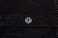Iron Heart 18oz Denim CPO Shirt w/ Hand Pockets - Overdyed - Image 10