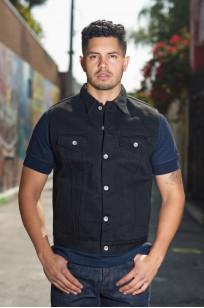 Iron Heart Sonny's Black Denim Vest - Image 0