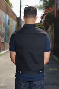 Iron Heart Sonny's Black Denim Vest - Image 1