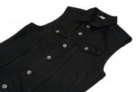 Iron Heart Sonny's Black Denim Vest - Image 4
