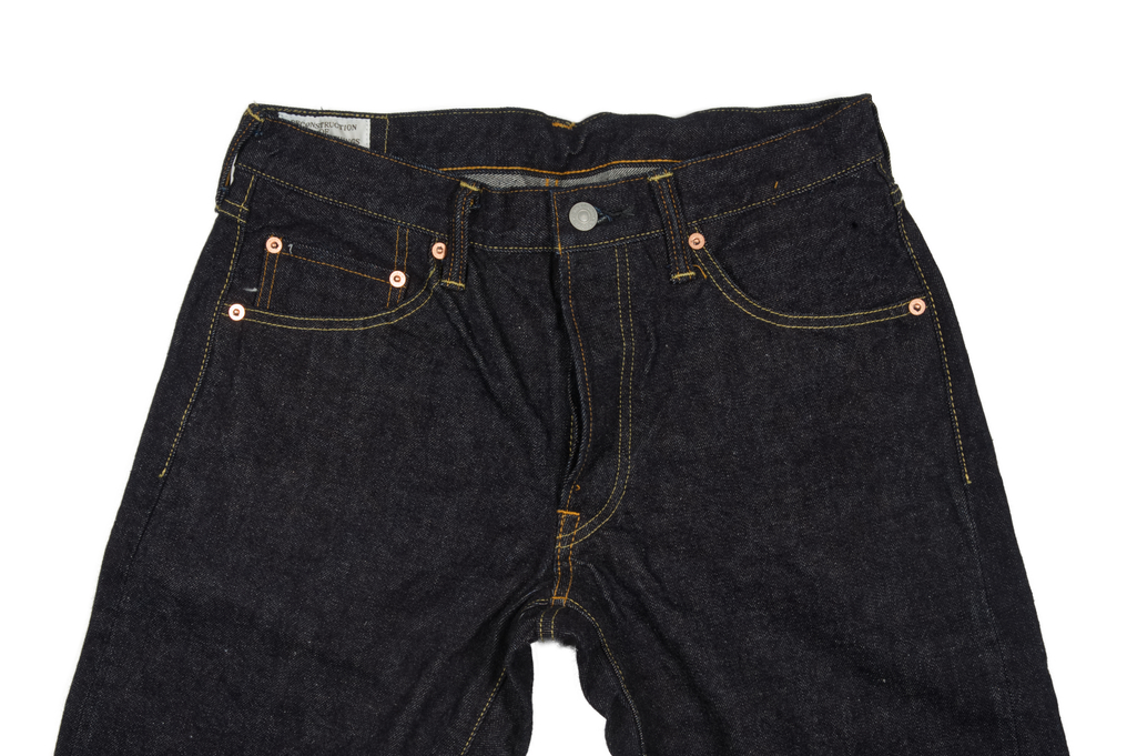 Studio D'Artisan SD-108 15oz Denim Jean - Straight Tapered - Image 3