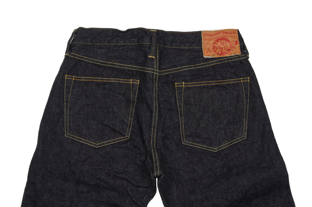 Studio D'Artisan SD-108 15oz Denim Jean - Straight Tapered - Image 5