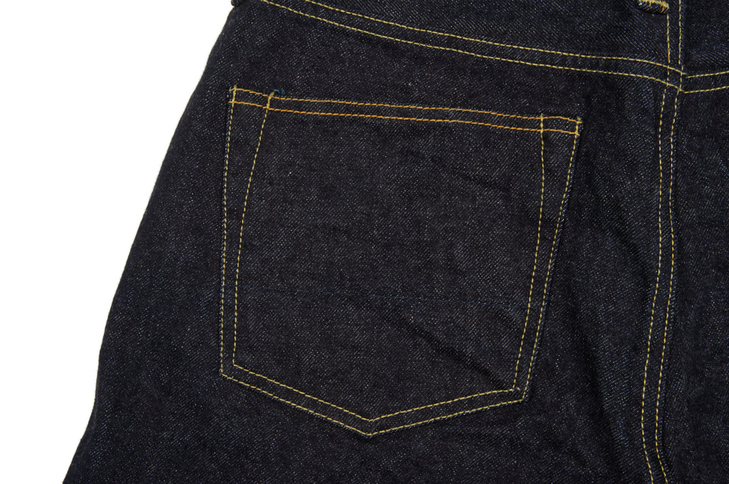 Studio D'Artisan SD-108 15oz Denim Jean - Straight Tapered - Image 7