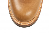 Flat Head Goodyear Welted Engineer Boots - Natural Pull-Up Chromexcel - Image 10