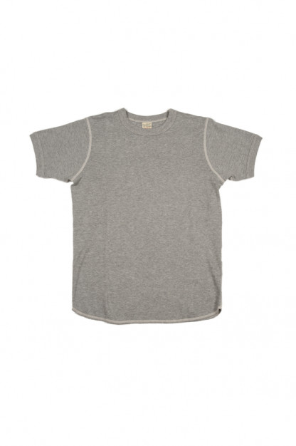 Buzz Rickson Blank Thermal T-Shirt - Gray