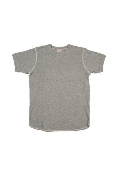 Buzz Rickson Blank Thermal T-Shirt - Gray