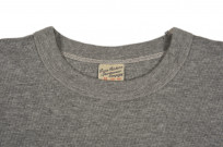 Buzz Rickson Blank Thermal T-Shirt - Gray - Image 2