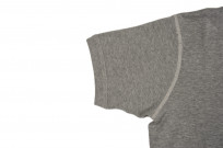 Buzz Rickson Blank Thermal T-Shirt - Gray - Image 4