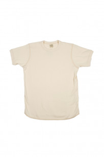 Buzz Rickson Blank Thermal T-Shirt - Natural - Image 0