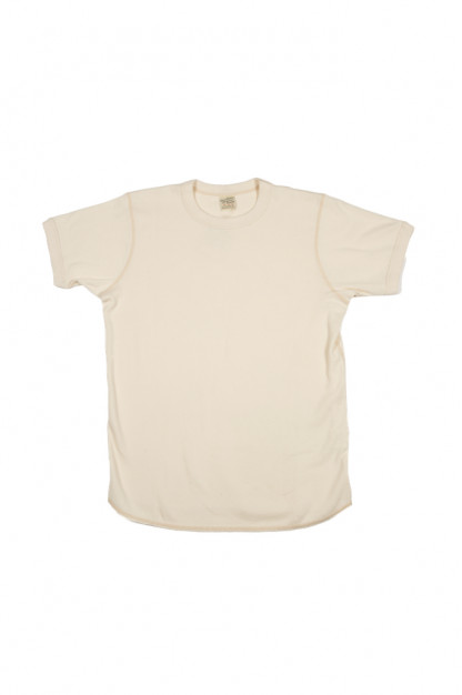 Buzz Rickson Blank Thermal T-Shirt - Natural