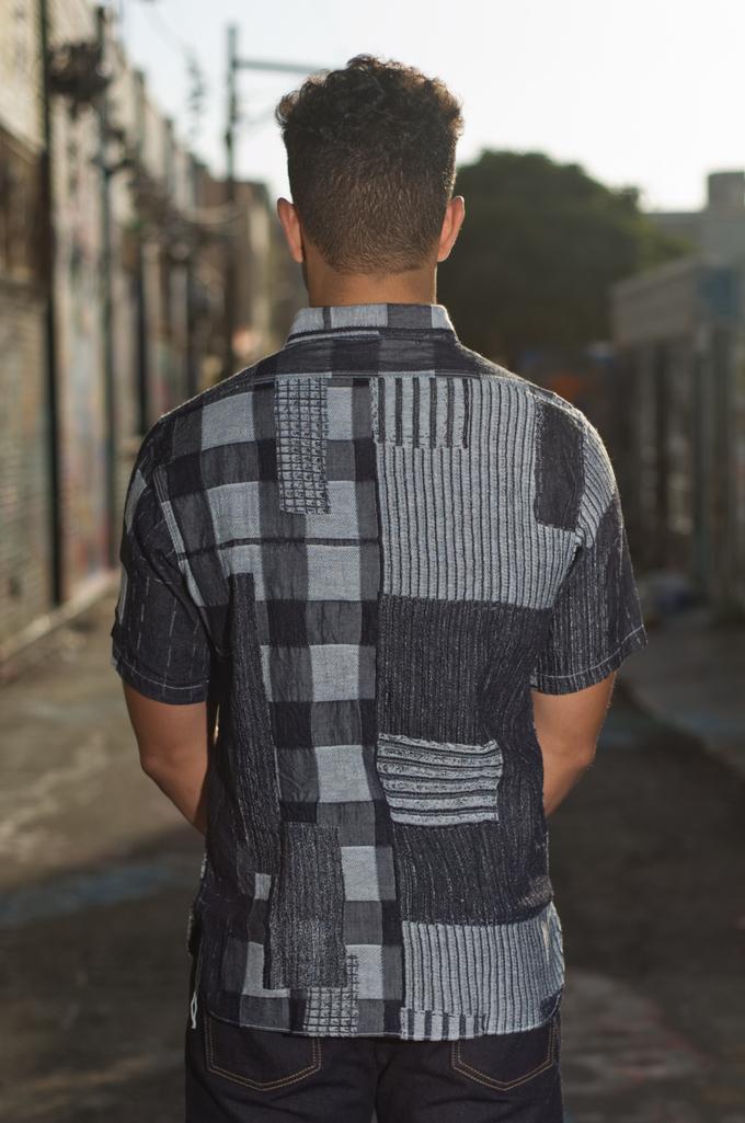 101b8221420 Sugar Cane Boro Denim Short Sleeve Shirt.  195.00. Featured Product  Thumbnail. Product Thumbnail 0