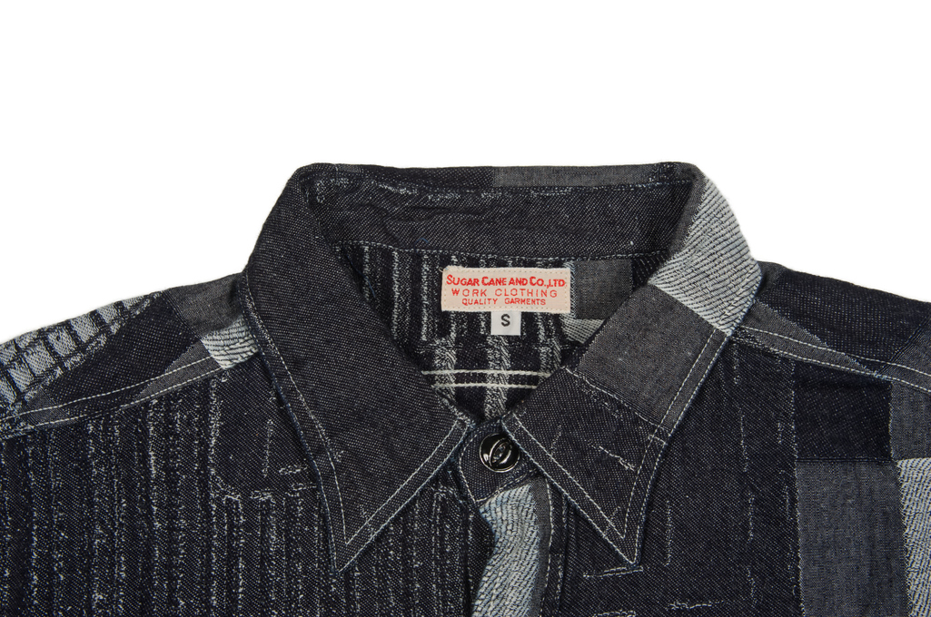 b52db10c5e8 Sugar Cane Boro Denim Short Sleeve Shirt.  195.00. Featured Product  Thumbnail. Product Thumbnail 0. Product Thumbnail 1. Product Thumbnail 2.  Product ...