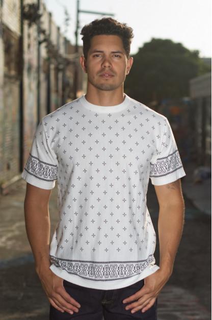 Sugar Cane Light Dragonfly T-Shirt - Off-White