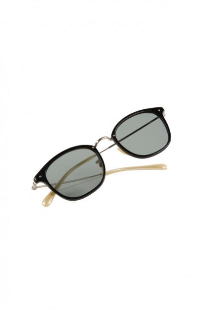 Globe Specs Titanium & Acetate Sunglasses - Ethan / Black