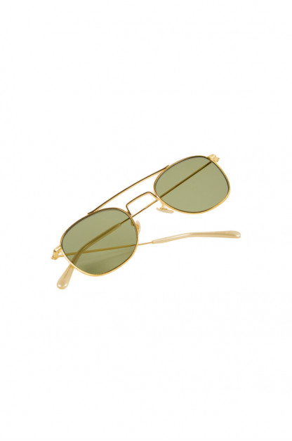 Globe Specs Nickel Alloy & Acetate Sunglasses - Sullivan