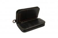Iron Heart Cordovan Mid-Length Wallet - Black - Image 4