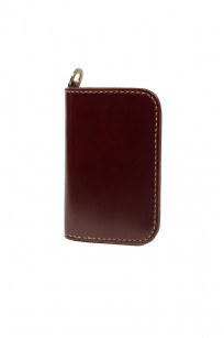 Iron Heart Cordovan Mid-Length Wallet - Ox-Blood - Image 0
