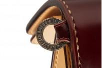 Iron Heart Cordovan Mid-Length Wallet - Ox-Blood - Image 5