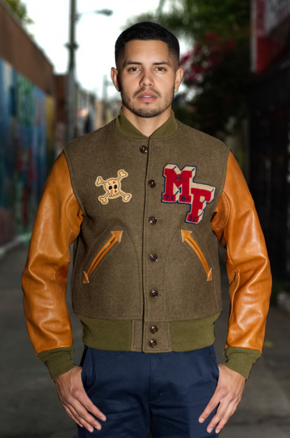 Mister Freedom Headquarters Varsity Jacket