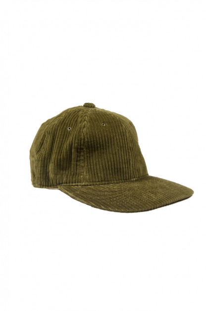 Poten Japanese Made Cap - Olive Cord