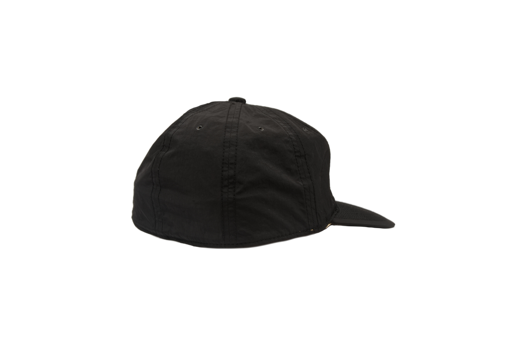 Poten Japanese Made Cap - Black Nylon - Image 1