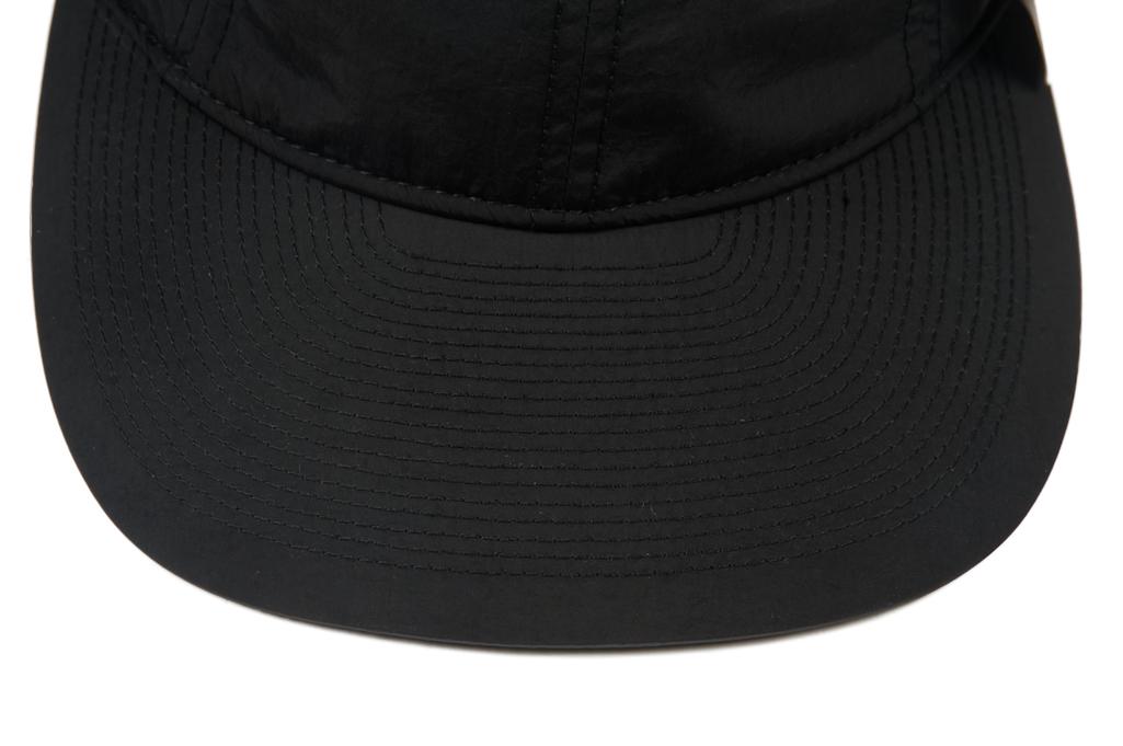 Poten Japanese Made Cap - Black Nylon - Image 3